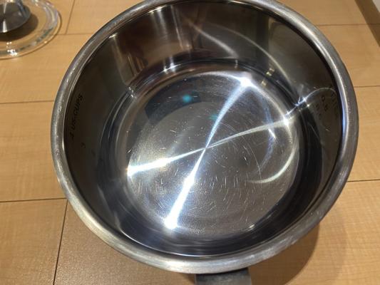 くすみが消えた鍋