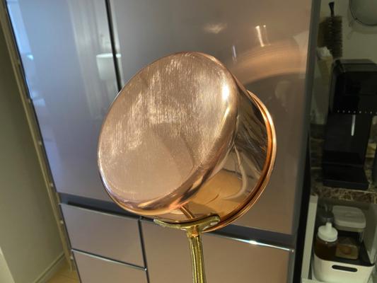 ピッカピカの銅鍋