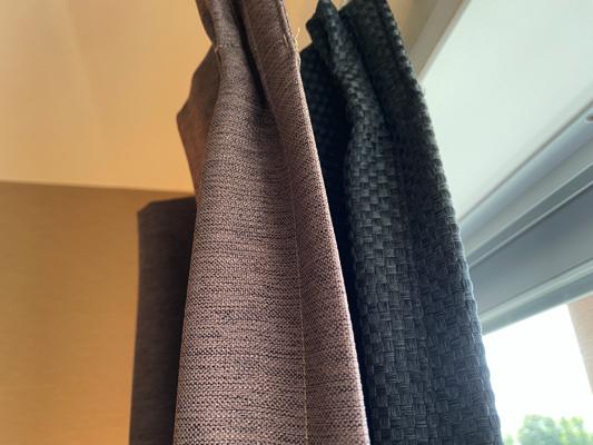 2重のカーテン