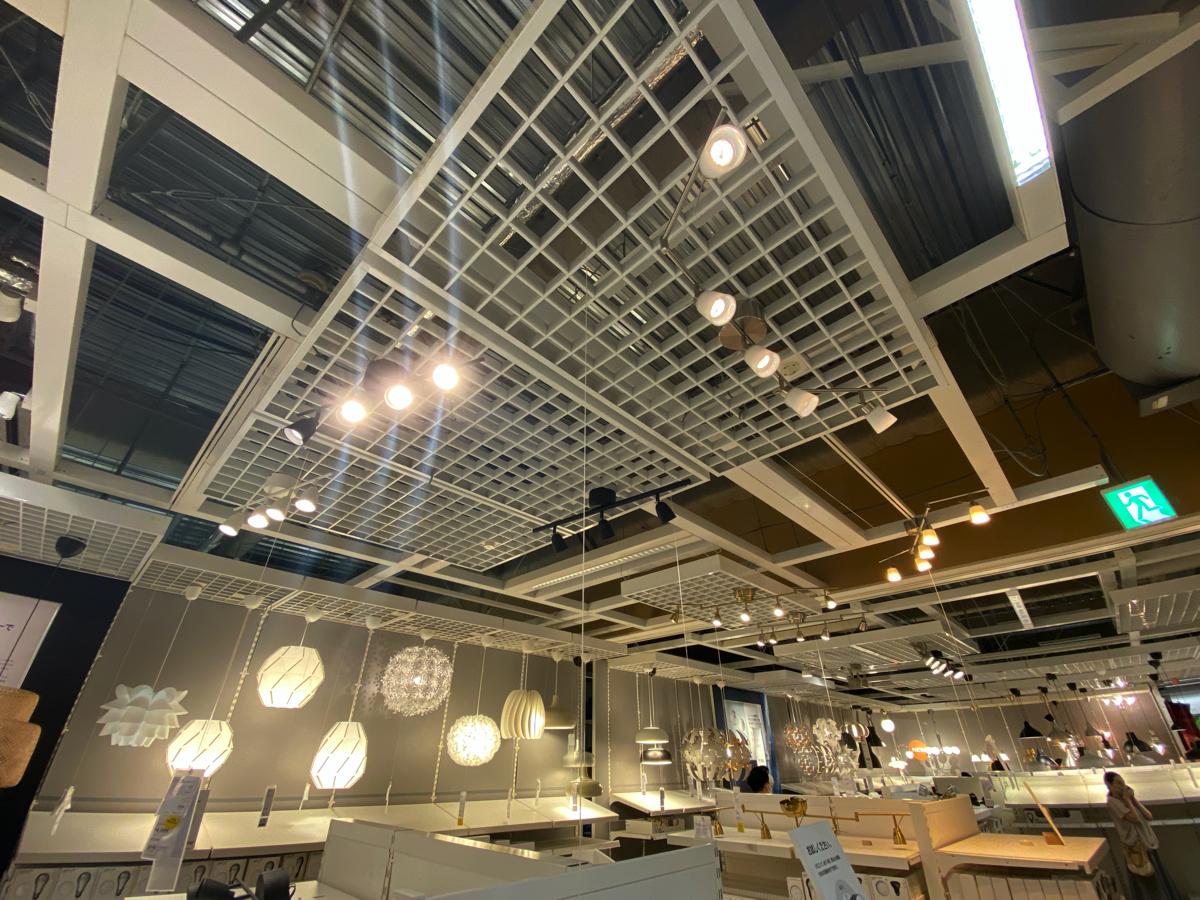 照明器具の種類解説ツアー at IKEA
