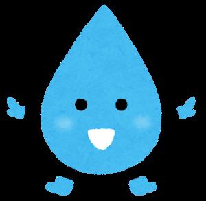 水滴のキャラクター