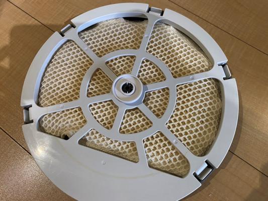 気化式加湿器のフィルター