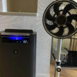 加湿器と扇風機